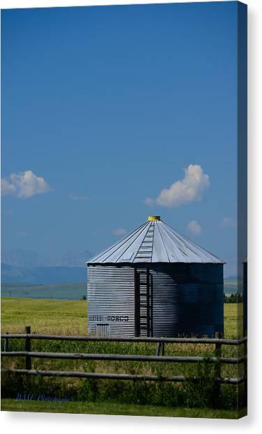 Foothills Farm Canvas Print
