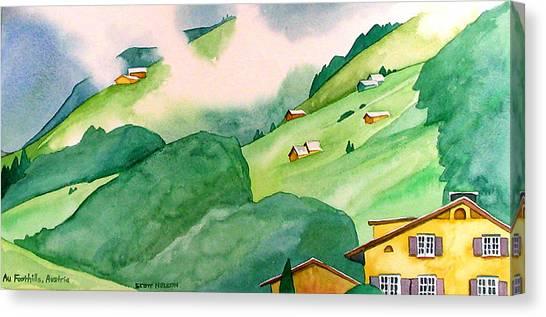 Foothills Of Au Canvas Print