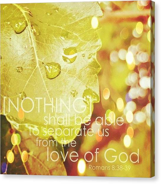 Rainbows Canvas Print - for I Am Persuaded, That Neither by Traci Beeson