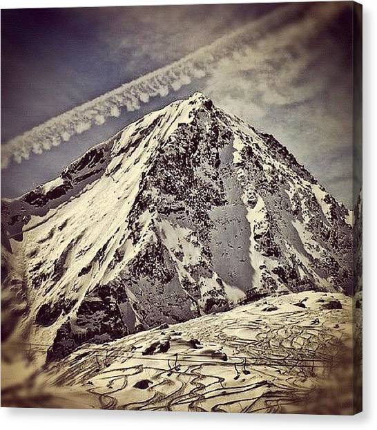 Glaciers Canvas Print - For Kerem ;) by Magda Nowacka