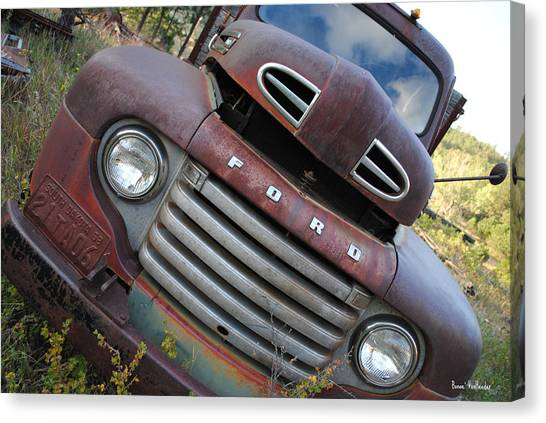 Ford Canvas Print by Bonae VonHeeder