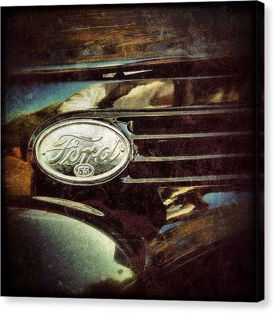 Ford Canvas Print - #ford by Reese Hicks