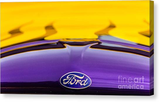 Ford Truck Canvas Print by Ursula Lawrence