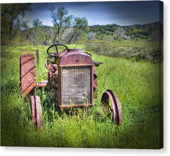 Fordson 1920 Tractor Canvas Print