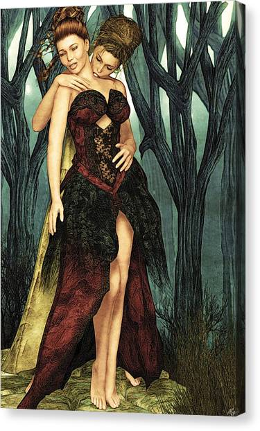 Forest Of Sighs Canvas Print