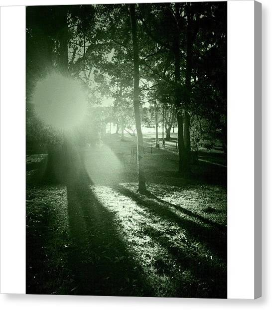 Saints Canvas Print - Forevergreen #iphoneography by Kendall Saint