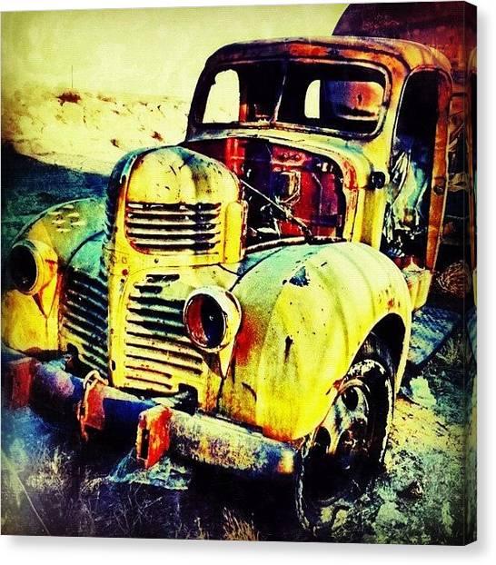 Dodge Canvas Print - Forgotten ~ Corron Xtrillion by Glen Campbell