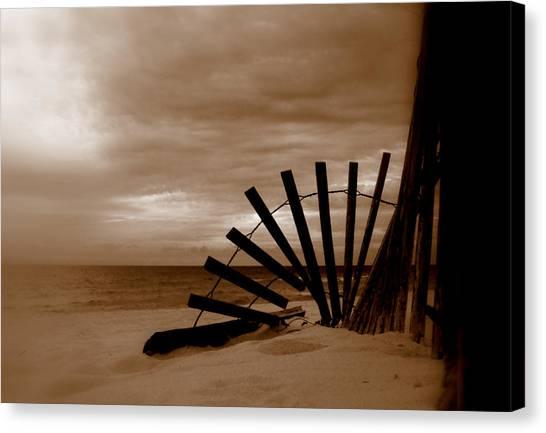 Forgotten Beach Canvas Print