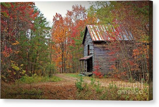 Forgotten Gristmill Canvas Print