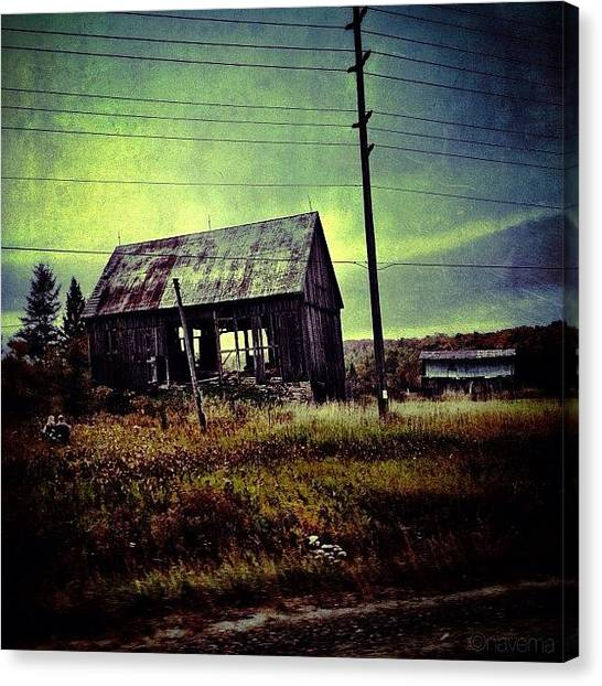 Barns Canvas Print - Forlorn by Natasha Marco