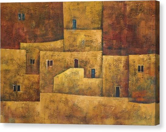 Formation Canvas Print by Adeeb Atwan
