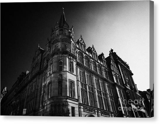 Former Prudential Assurance Building St Andrew Square Edinburgh Scotland Uk United Kingdom Canvas Print by Joe Fox