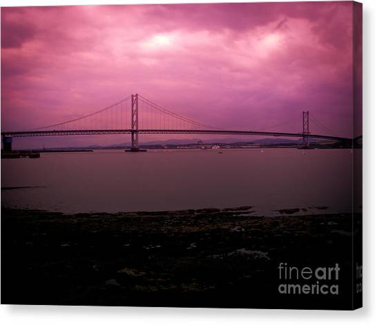 Forth Road Bridge Canvas Print