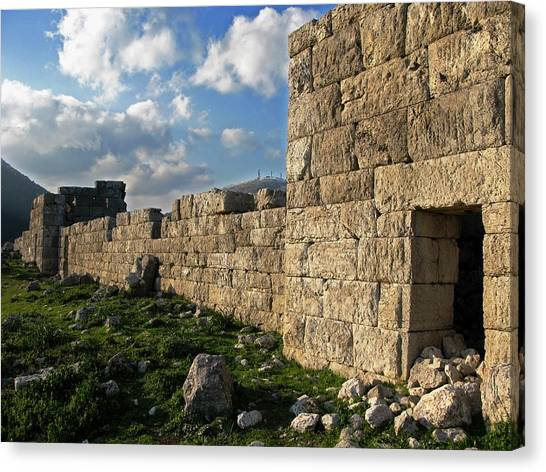 Fortified Citadel Canvas Print by Andonis Katanos