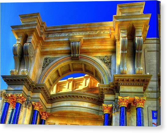 Forum Shops Arch Canvas Print