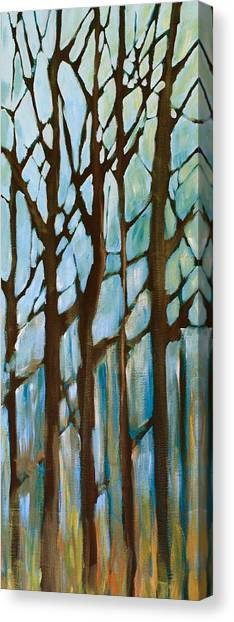 Found In The Trees Canvas Print by Lisa Masters