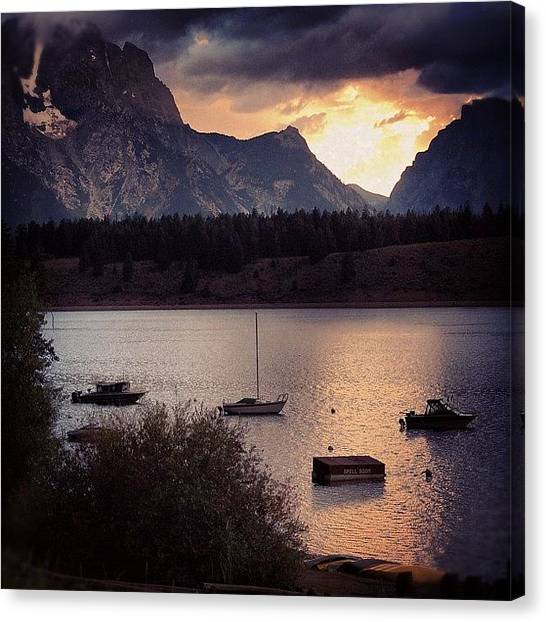 Yellowstone National Park Canvas Print - Found My Yellowstone Pictures. More To by Brandon Yamaguchi