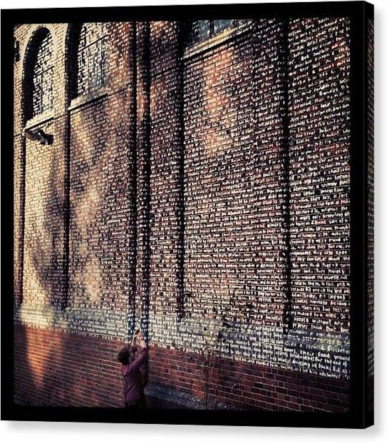 Warehouses Canvas Print - Found This Large #abandoned #warehouse by Nathan Clarke