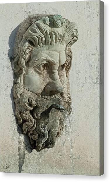 Fountain Head Canvas Print