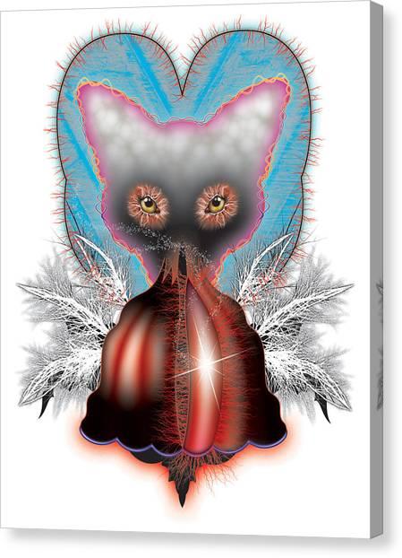 Fox Canvas Print by Foltera Art