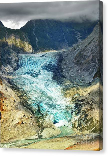 Fox Glacier Canvas Print - Fox Glacier by MotHaiBaPhoto Prints