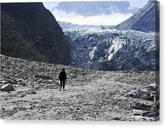 Fox Glacier Canvas Print - Fox Glacier by Photostock-israel