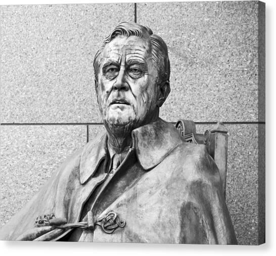 Franklin D. Roosevelt Canvas Print - Franklin Delano Roosevelt by Brendan Reals
