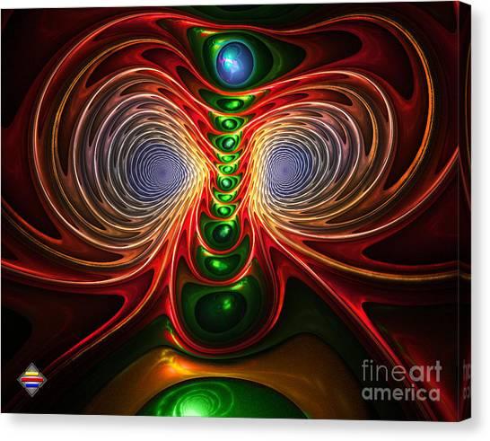 Freak Eyes Canvas Print by Vidka Art