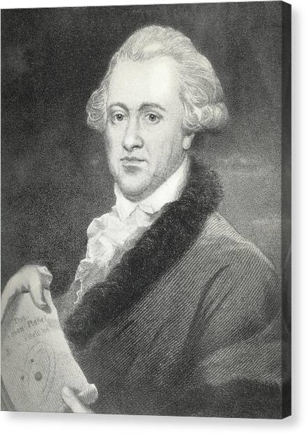 Frederick William Herschel, Astronomer Canvas Print by Science, Industry & Business Librarynew York Public Library