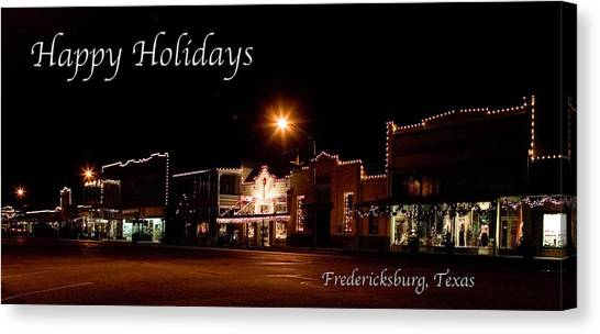 Fredericksburg Lights Canvas Print