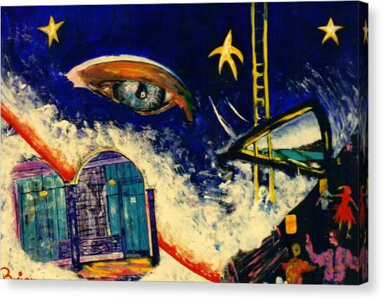 Free City Canvas Print