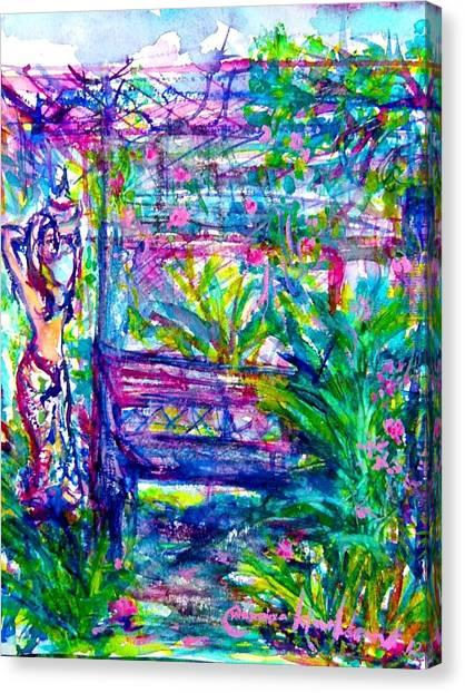 Free Sit Canvas Print