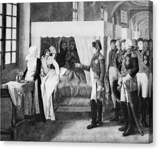 French Hospital, 19th Century Canvas Print by