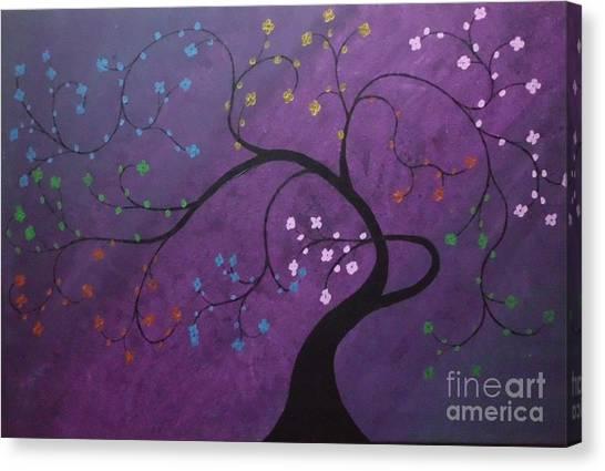 Fresh Blooms Canvas Print by Dawn Plyler