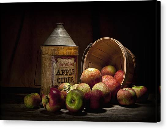 Fruit Baskets Canvas Print - Fresh From The Orchard II by Tom Mc Nemar