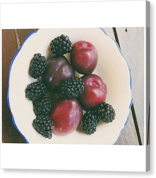 Still Life Canvas Print - Fresh Fruits by Ann K