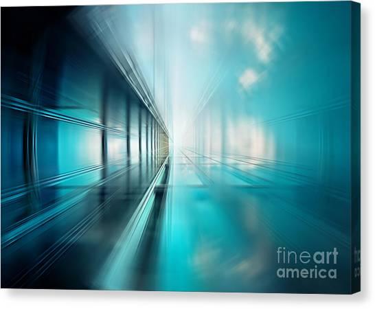 Freshness Of Air Canvas Print by Frank Waechter