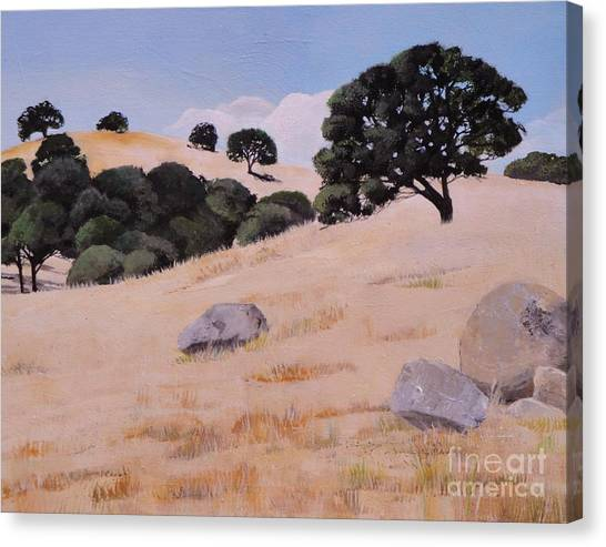 Fresno Foothills Canvas Print