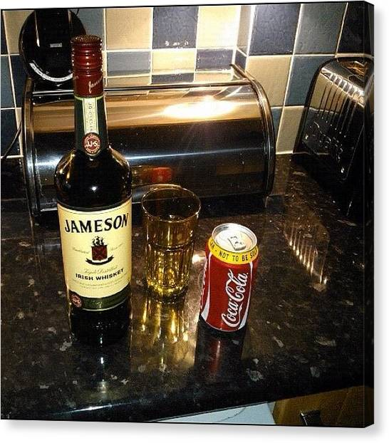 Whiskey Canvas Print - #friday #night #treat #drink #booze by Chris Gallagher
