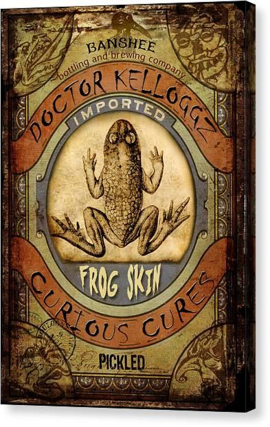 Frog Skin Canvas Print