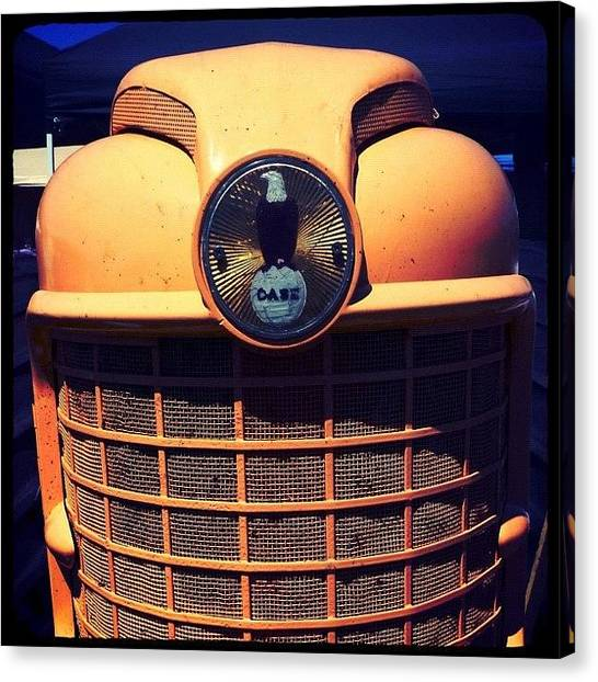 Tractors Canvas Print - From The Archive: Big Smile! The Great by Christopher Hughes