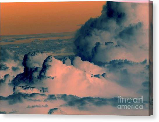 Canvas Print - From The Plane by Silvie Kendall
