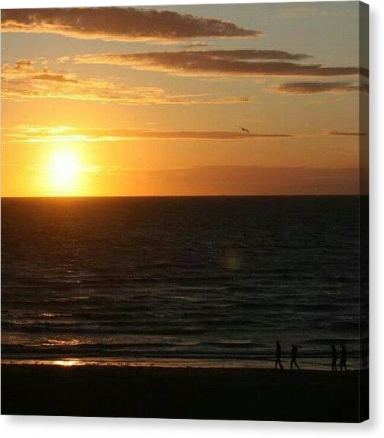 Back Canvas Print - From This Summer.. #beautiful #sun by Ole Back