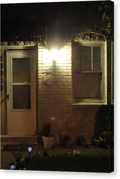 Front Of The Home Front Canvas Print by Guy Ricketts