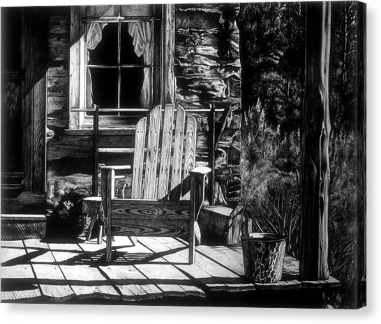 Front Porch Canvas Print by Jerry Winick