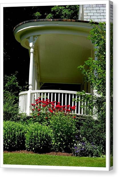Front Porch Of Millers House Canvas Print