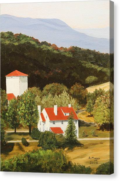 Front Royal Vista Canvas Print