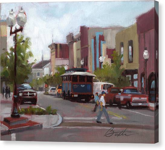 Front Street Canvas Print by Todd Baxter