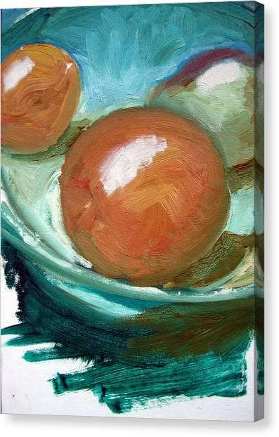 Fruit Bowl Canvas Print by Robert Bruce