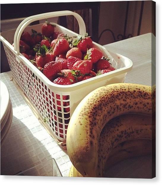 Healthy Canvas Print - Fruitage #jonspics #food #foodporn by Jonathan Bouldin